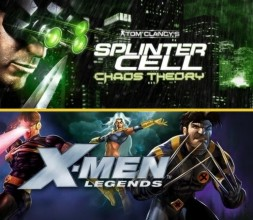 Tom Clancy's Splinter Cell Chaos Theory (oben) und X-Men Legends (unten)